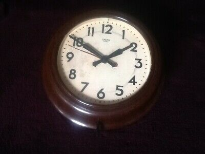 Vintage Smith Sectric Wall Clock