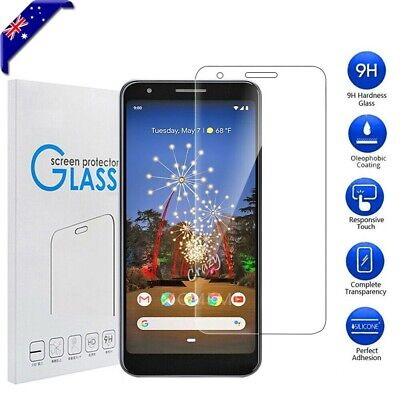 1x 2x Pixel 3a 3a XL 9H Premium Tempered Glass Screen Protector Film For Google