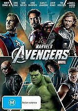 Avengers Dvd - New & Sealed Marvel,Thor,Hulk, Iron Man,Captain America Free Post