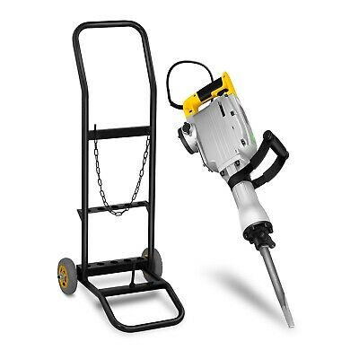 Demolition Hammer With Trolley Jackhammer Concrete Breaker Tool Holder 1900bpm