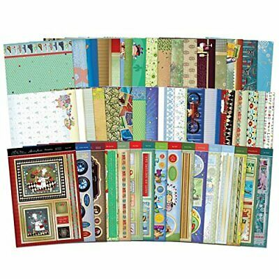 Hunkydory ~ Mega Card Collection ~ All the Boys ~ Makes 32 cards