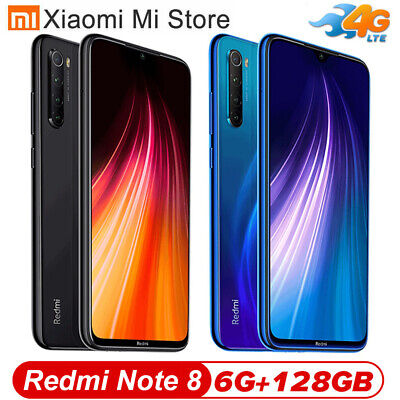 "Xiaomi Redmi Note 8 6.3"" Snapdragon 665 Octa Core 48MP 4 Cameras GLOBAL VERSION"