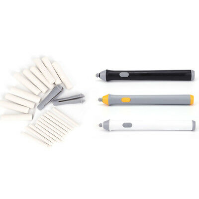 Neu Handy Electric Battery Operated Pencil Eraser Rubber Out Pen /& Refills Gift