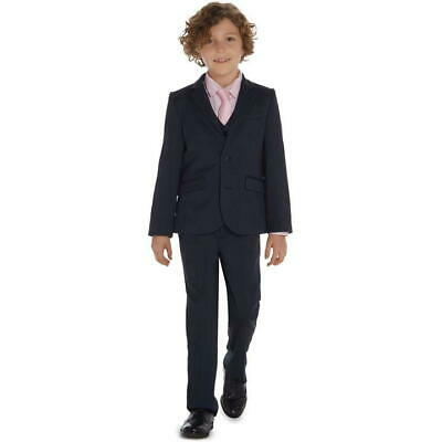 HOWICK Junior Boys Suit Trousers And Jackets Navy Size 3-4 Years VR163 06