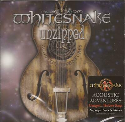 Whitesnake - Unzipped... The Love Songs ( CD 2018 ) NEW / SEALED