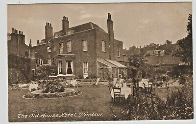 Vintage The Old House Hotel, Windsor United Kingdom Vintage Sepia Postcard