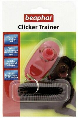 Beaphar Clicker Trainer Dog Training Puppy