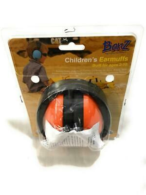 Baby Banz Children's Hearing Protection Ear Muffs, For Ages 2-10 y/o, Orange