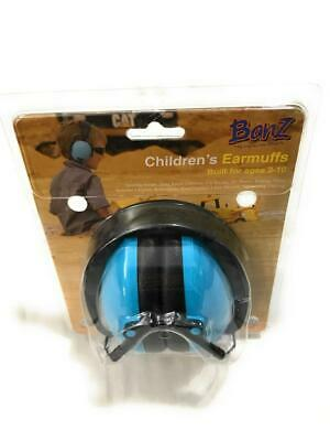 Baby Banz Children's Noise Hearing Protection Ear Muffs, For Ages 2-10 y/o, Blue