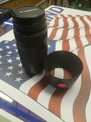 Canon Zoom Lens EF 75-300mm 1:4-5.6 II Lens. With extras