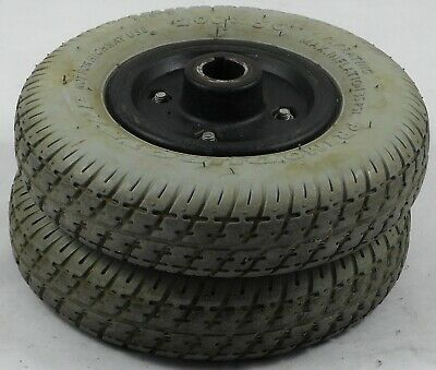 Pride GoGo Ultra 4mph pair of Rear Wheels with Solid Tyres 200x50