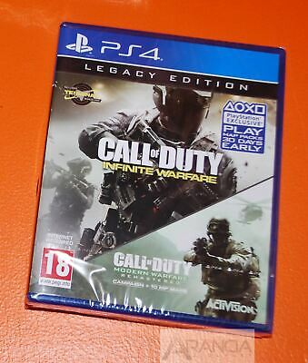 Call of Duty Infinite Warfare Legacy Edition PS4 New and Sealed