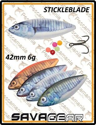 "Savage Gear ""STICKLEBLADE"" 42mm 6gr. in-line blade bait"