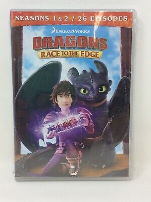 Dragons: Race To The Edge - Seasons 1 And 2 [New DVD] Boxed Set