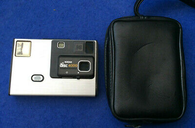 Vintage Kodak disc 4000 camera with case and instruction book