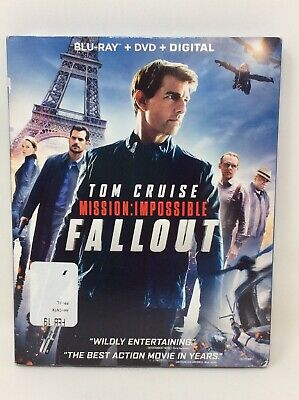 Mission: Impossible: Fallout [New Blu-ray] With DVD, 3 Disc Set, Digital Copy