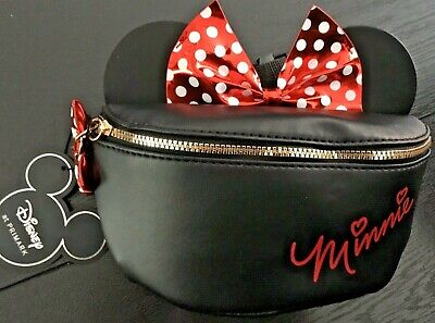 DISNEY MINNIE MOUSE Girls Kids Childs Bum Bag Fanny Pack Licensed Primark