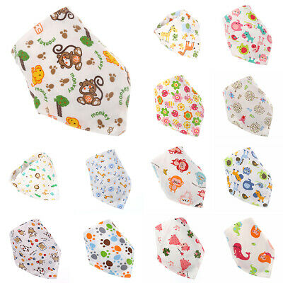 Kids Baby scarf Bandana burp cloths Cotton Baby bibs Newborn Toddler Fashionable