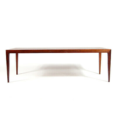 Retro Vintage Danish Haslev Severin Hansen Rosewood Large Coffee Table 60s 1970s