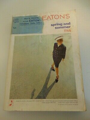 1966 Eatons Spring And Summer Catalogue