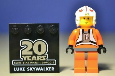 Minifig New Lego Star Wars Luke Skywalker 20th Anniversary sw1024 From 75258