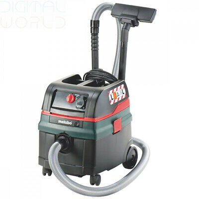 Metabo ASR25LSC Dust Extractor with Self Cleaning and Auto Power-on 240V 1