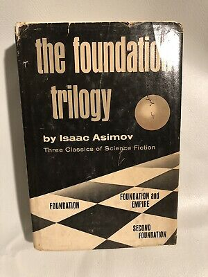 The Foundation Trilogy Isaac Asimov 1951 Book Club Edition
