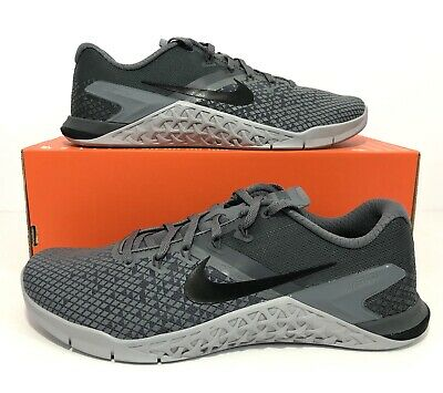 buy popular 9f766 43ce2 Nike Metcon 4 XD Cool Grey Black Dark Grey Training BV1636-011 Men s Size  9.5