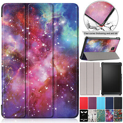Luxury Leather Folding Stand Slim Cover For Samsung Tab A 8.0 2018 SM-T387V Case