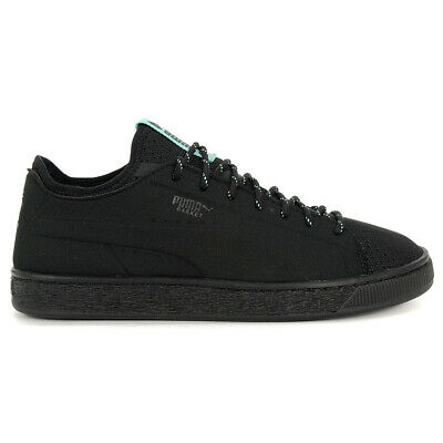 PUMA Men's Basket Sock Lo Diamond Puma Black Shoes 36643102 NEW!