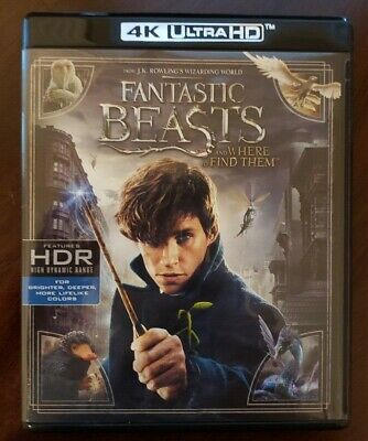 Fantastic Beasts and Where to Find Them (4K Ultra HD and Blu-ray) - No Digital