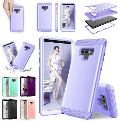 For Samsung Galaxy Note 9 Case S9 Plus Hybrid Shockproof Tough Bumper Back Cover