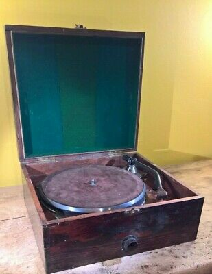 Decca vintage portable record player