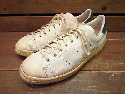 new styles 0a012 cab8b Vintage 1970 s Adidas Rober Haillet France Tennis Shoes White US 9.5 27.5cm