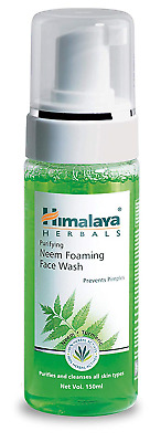 Himalaya Purifying Neem Foaming Face Wash with Neem and Turmeric for Occasional