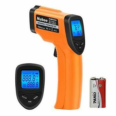 Nubee 8380H Non-contact Infrared Thermometer Temperature Gun with Laser Sight ..