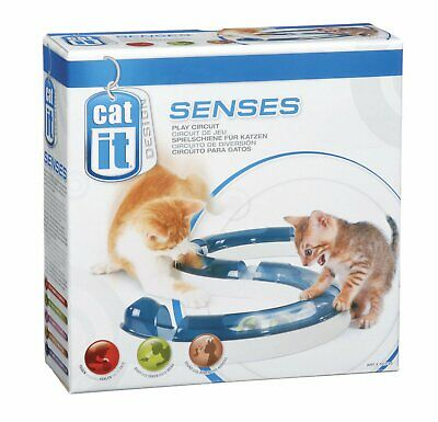 Cat it Senses Play circuit jeu pour chat Chaton avec balle Fun et Attractif NEUF