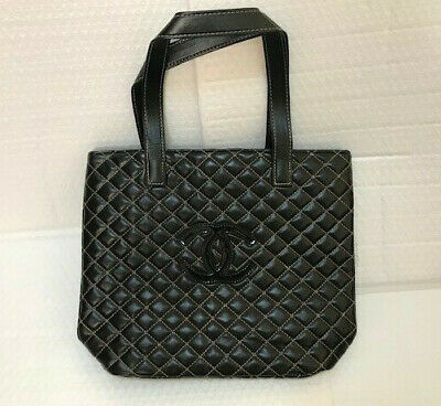 2da7ec838a93 Chanel Paris Beaute VIP Gift Bag Shoulder Bag Shopping Bag Black New