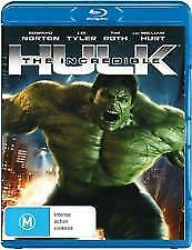 The Incredible Hulk Blu Ray - New & Sealed Edward Norton, Marvel, Tim Roth