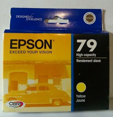Epson T079420 Claria Hi Definition Yellow High Capacity Cartridge Ink Expired