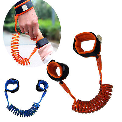 Toddler Baby Kid Safety Walking Anti-lost Harness Strap Wrist Band Leash Belt-WI