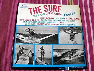 Rare The Surf Claude Bolling Trumpet Boy Tom & Jerry  1963