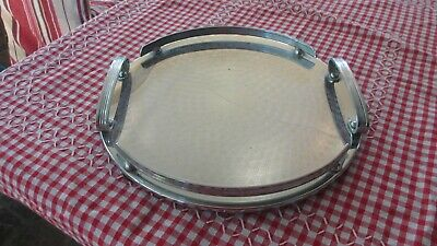 Vintage Ranleigh 50s Cocktail Round Drinks Tray Quality Here Australian made