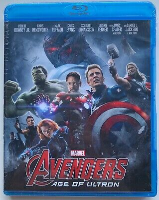 New Marvel Avengers Age Of Ultron Blu Ray Free World Wide Shipping Buy It Now