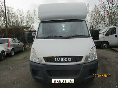 60 Plate Iveco Daily Box Van Hi Roof With A Side Door Ex Autolease 197,000 F.s.h