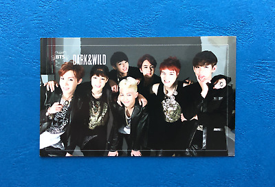 BTS Group Official Photocard 1st Album Dark & Wild FREE SHIPPING