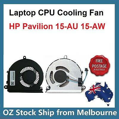 Laptop CPU Cooling Fan for HP Pavilion 15-AU 15-AW Series 856359-001 859710-001