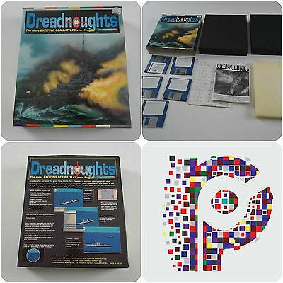 Dreadnoughts A Turcan Game for the Commodore Amiga Computer