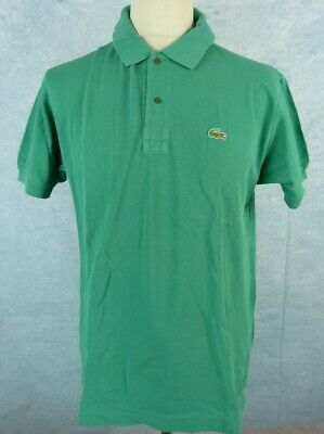 34c40314ef LACOSTE POLO HOMME Taille 6 - Manches courtes - Vert - EUR 14,00 ...