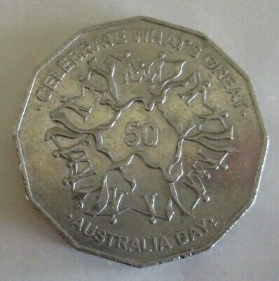 2010 - Australia Day - Australian Fifty / 50 Cent Coin - Circulated